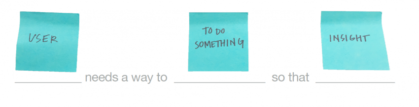 Design Thinking | Needs Statement