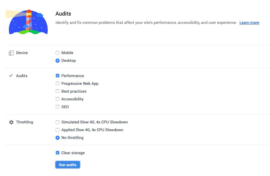 Audits Defaults | Use Chrome DevTools To Audit Your Site's Performance