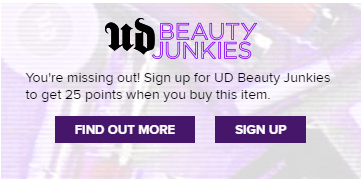 Urban Decay Newsletter Example | Calling Your Content to Action