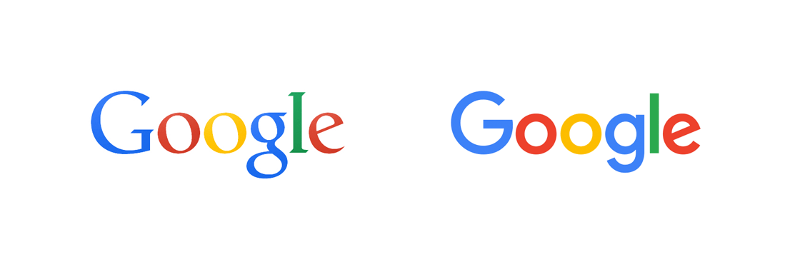 Google Logo Transformation | Choosing a Typeface That's Right for Your Brand