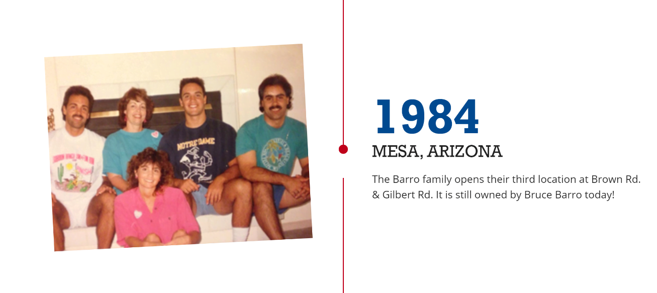 "Barros Timeline Example | The Importance of an ""About"" Page, and How to Make Yours Stand Out"