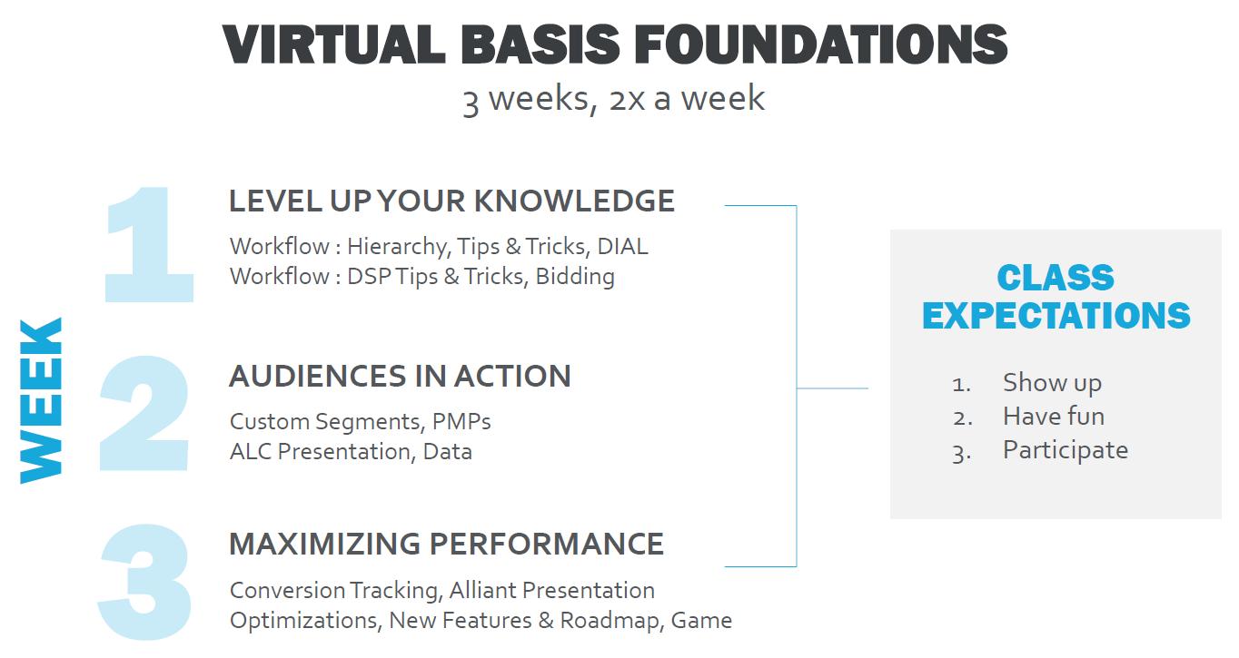 Virtual Basis Foundations